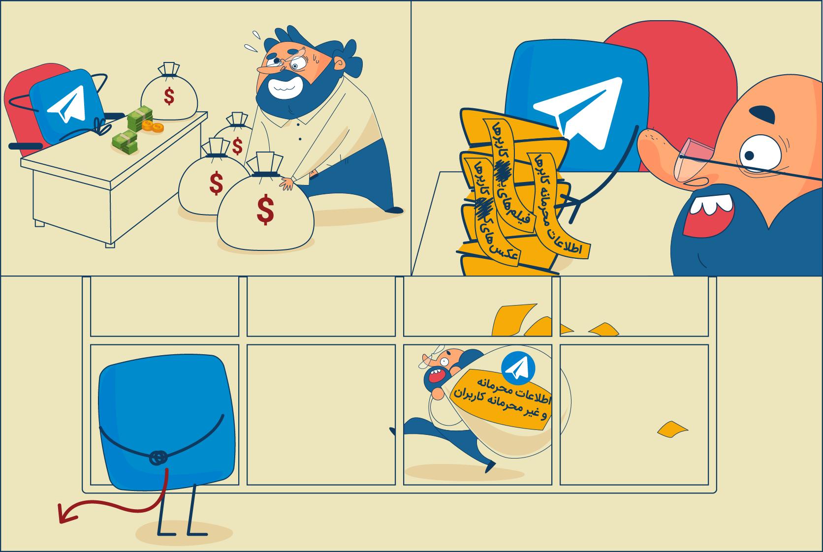 از شایعات تا واقعیتِ دسترسی و انتقال سرورهای تلگرام به ایران : آخر و عاقبت حمایت از تولیدِ داخلی